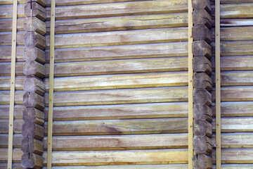 Golden Gate wooden wall texture №41613