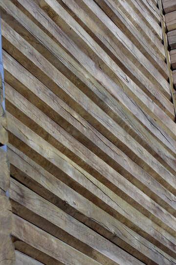 Golden Gate fragment of wooden wall texture №41629