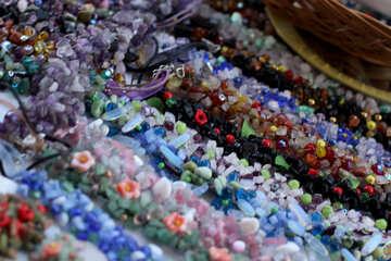 Perlen aus Stein №41585