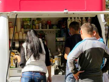 People buy street food №41031
