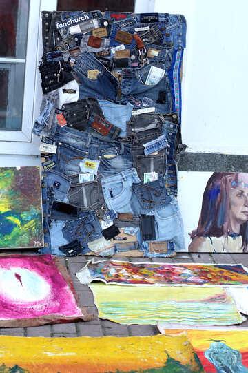 Die Installation von Jeans №41594