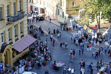 Pedestrian street market №41449