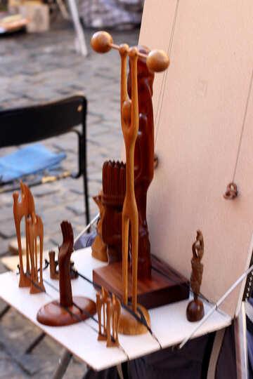 Souvenir wooden toys №41514