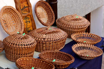 Wicker tableware №41516