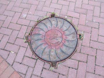 Iron manhole №41179