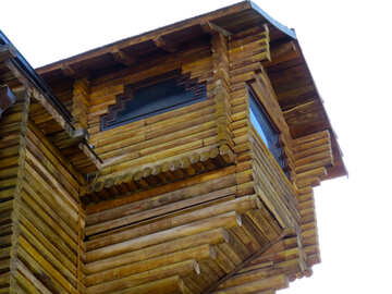 Wooden balcony №41034