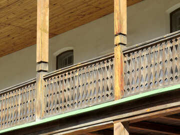 Wooden balcony №41172