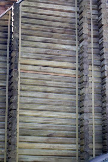 Golden Gate wooden wall №41612