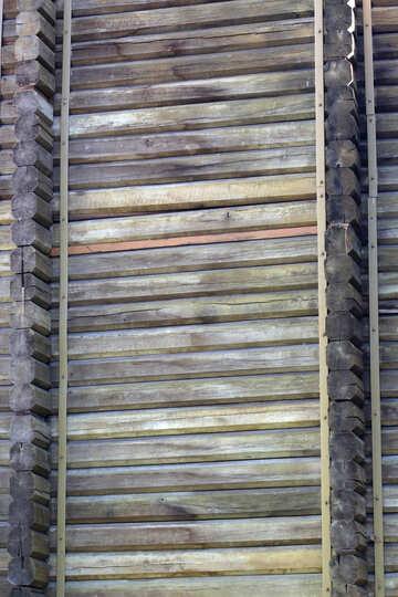 Golden Gate wooden wall №41614