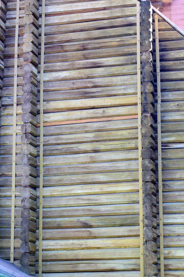 Golden Gate wooden wall №41615