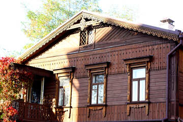Wooden house on the St. Andrew descent №41508