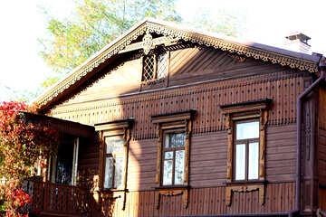 Casa di legno sulla a Sant`Andrea discesa №41508