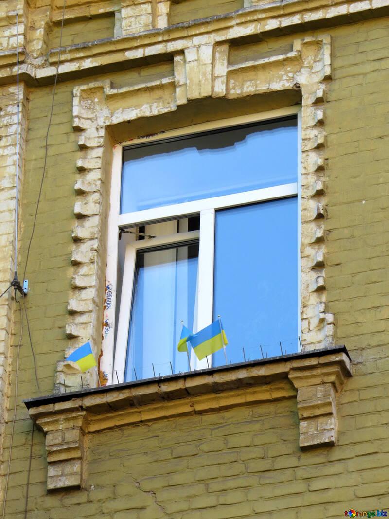Пластиковое окно в старом доме №41001