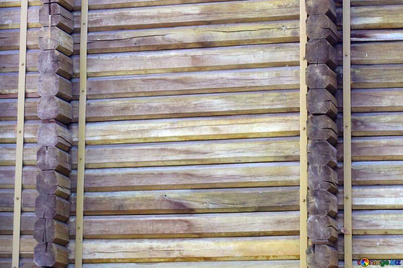 Золотые Ворота деревянная стена текстура №41613