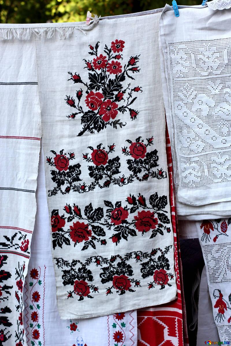 Ukrainian towel №41499