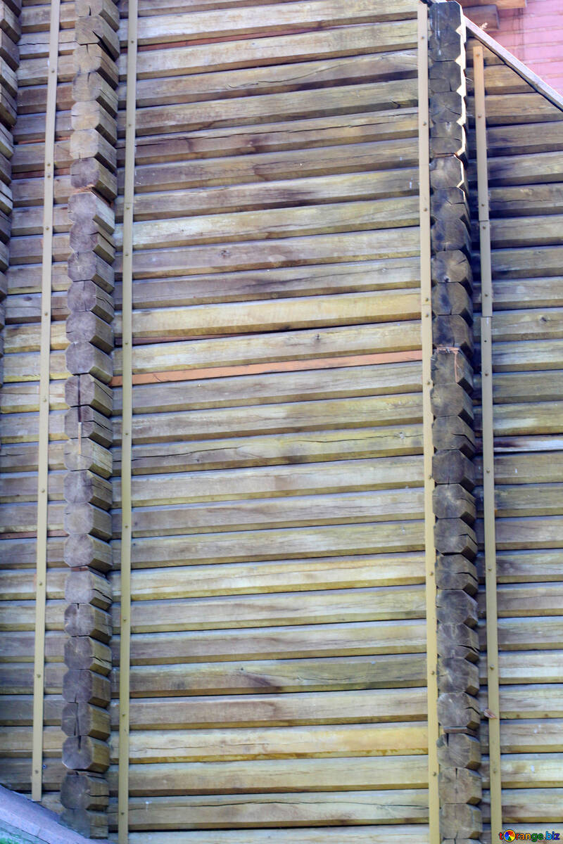 Золотые Ворота деревянная стена №41615