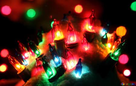 Christmas lights №41307