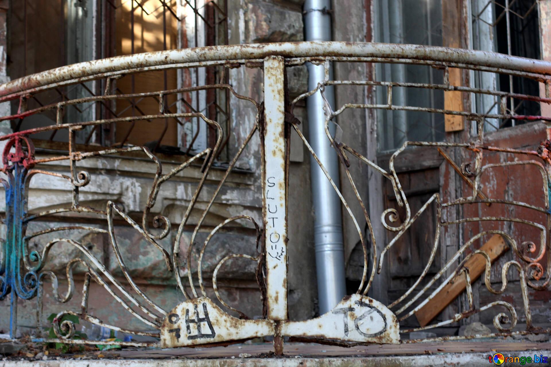 Alte Balkone Vintage Balkongelander Gebaude 42139