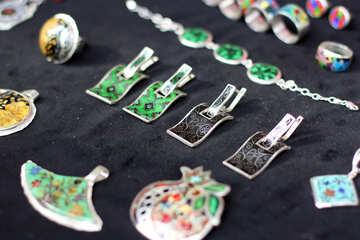 Georgian enamel ornaments from №42375