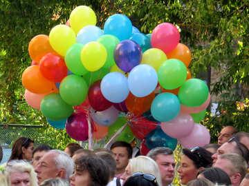 Balloons at festival №42287