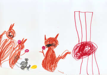 Children`s drawing about a story №42847