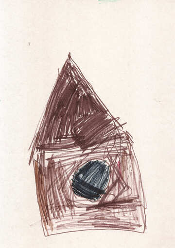 Child`s drawing house №42830