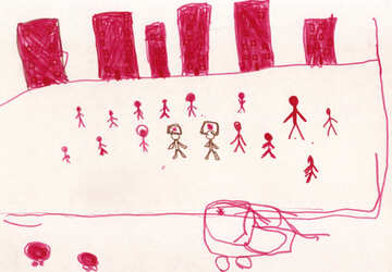 Children`s drawing sports №42780