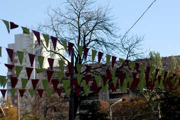 Decorating the city for the holiday №42163