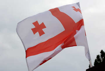 Georgian flag №42430