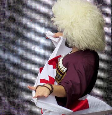 Georgian folk dance №42465