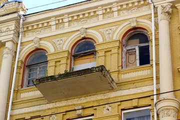 Balcony without rails №42078