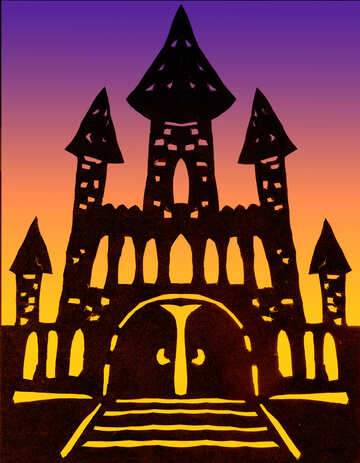 Clipart sinister castle №42670