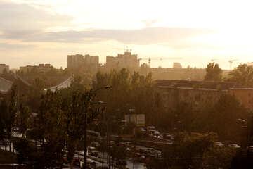 Закат в Киеве №42302