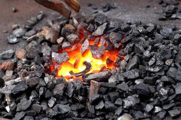 Hufeisen auf Feuer №42438