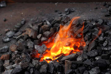 The fire in the smithy №42436