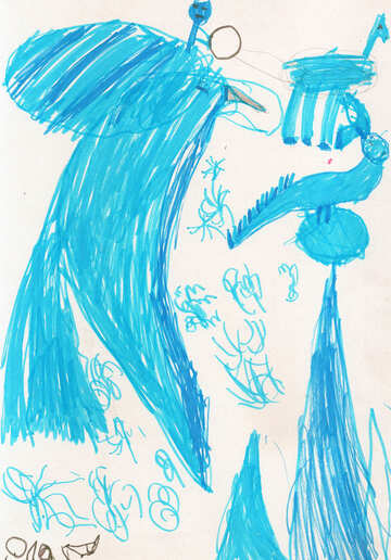 Children`s drawing shows №42787