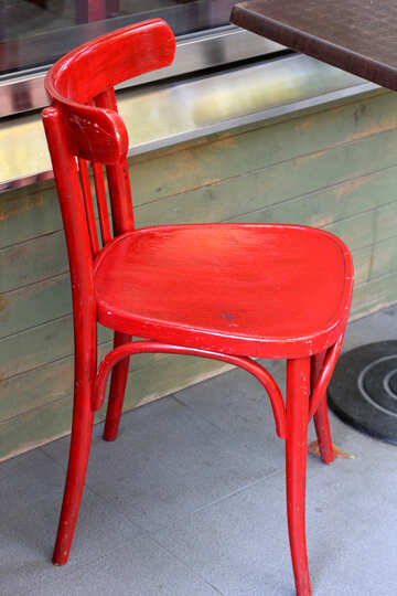 Red Wiener Stuhl №42062