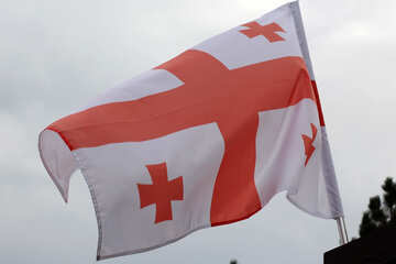 Flag of Georgia №42428
