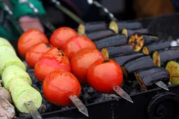 Skewer of vegetables №42353