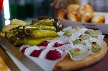 Snacks in Georgian №42348
