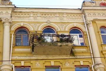 Old balcony №42077