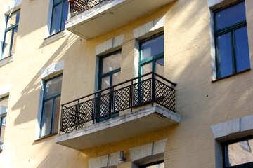 Restored balcony №42115