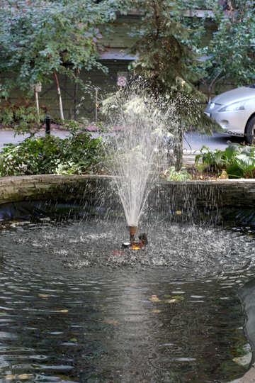 Garden fountain №42118