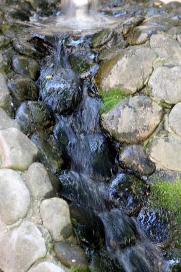 Garden waterfall №42121