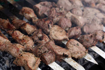 Georgian shashlik №42355