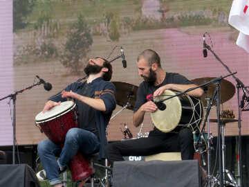 Georgian drummers №42452