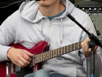 Playing guitar №42461