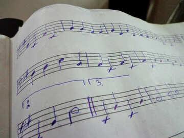 Handwritten notes №42934
