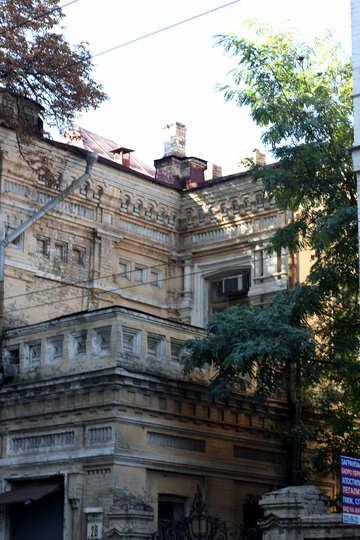 Old balcony patio №42110