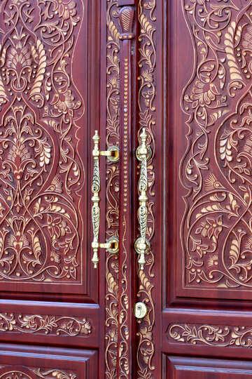 Dear pattern on the door №42052